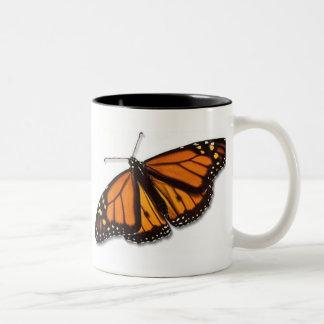Monarch Butterfly Drinkware Two-Tone Coffee Mug