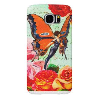 Monarch Butterfly Fairy Samsung Galaxy S6 Samsung Galaxy S6 Cases