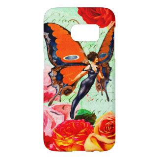 Monarch Butterfly Fairy Samsung Galaxy S7,