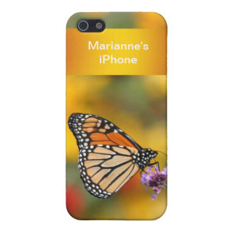 Monarch Butterfly In Search of Pollen Cover For iPhone 5/5S