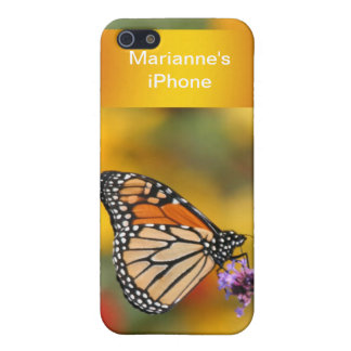 Monarch Butterfly In Search of Pollen iPhone 5/5S Cover