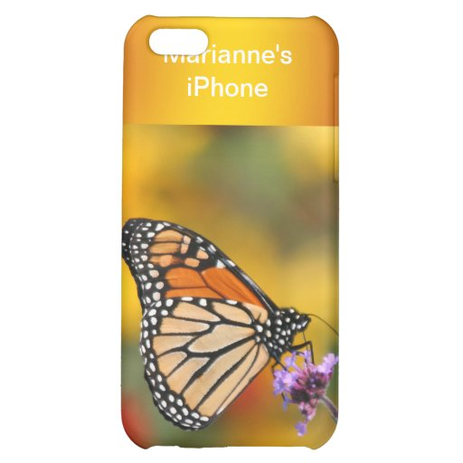Monarch Butterfly In Search of Pollen iPhone 5C Case
