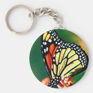 Monarch Butterfly Key Chain