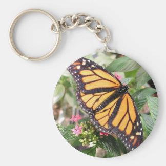 Monarch Butterfly Key Ring