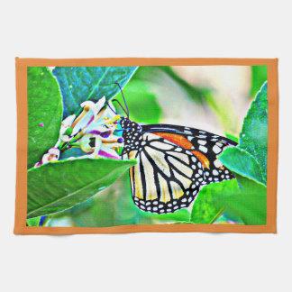 Monarch Butterfly Kitchen Towel