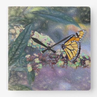 Monarch Butterfly Lover Clock