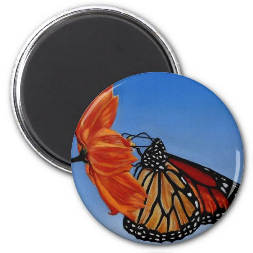 MONARCH BUTTERFLY REFRIGERATOR MAGNET