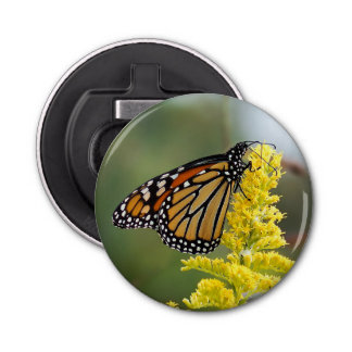 Monarch Butterfly Magnet Bottle Opener