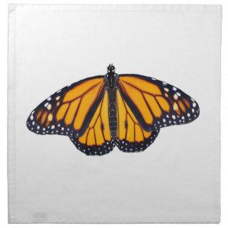 Monarch butterfly napkin