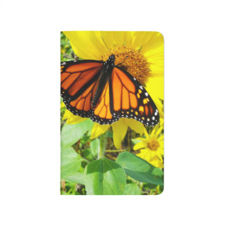 Monarch Butterfly on Sunflower Journal