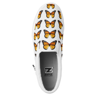 Monarch Butterfly Pattern Shoes