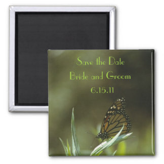 Monarch Butterfly Save the Date Magnet