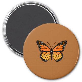 Monarch Butterfly Sensation 7.5 Cm Round Magnet