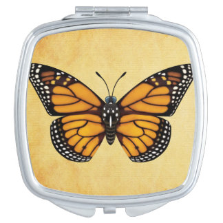 Monarch Butterfly Travel Mirrors