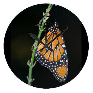 Monarch Butterfly Wallclock