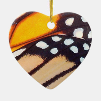 Monarch Butterfly Wing Christmas Ornament