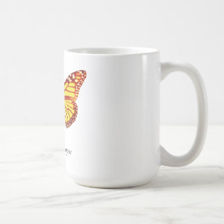 Monarch Butterfly with Name Coffee Mug
