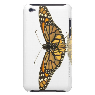 Monarch butterfly with wings spread barely there iPod cases