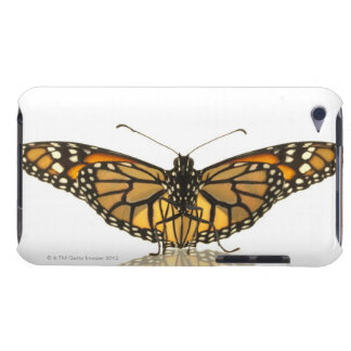 Monarch butterfly with wings spread iPod touch cover