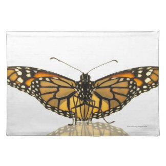 Monarch butterfly with wings spread placemat