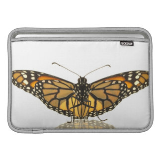 Monarch butterfly with wings spread sleeves for MacBook air