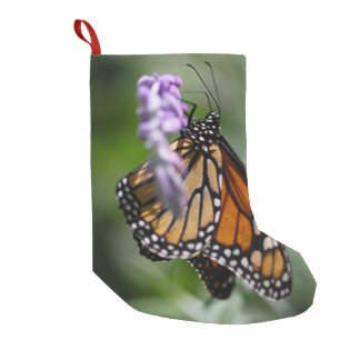 Monarch Danaus Plexippus Small Christmas Stocking