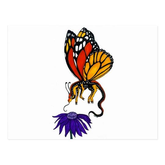 Monarch Dragon Fairy Postcard