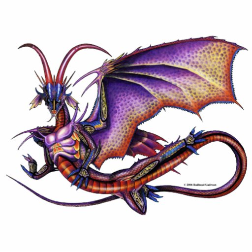 Monarch Dragon Photo Sculpture
