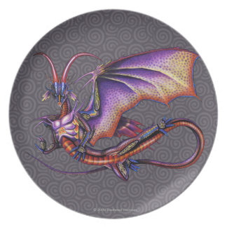 Monarch Dragon Plate
