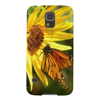 Monarch Foraging Galaxy S5 Case