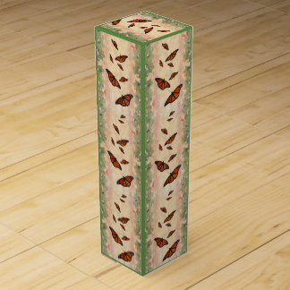 Monarch Garden Wine Box