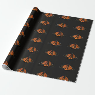 Monarch in the key of Orange and black Wrapping Paper