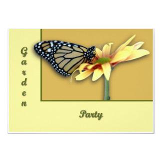 """Monarch 5"""" X 7"""" Invitation Card"""