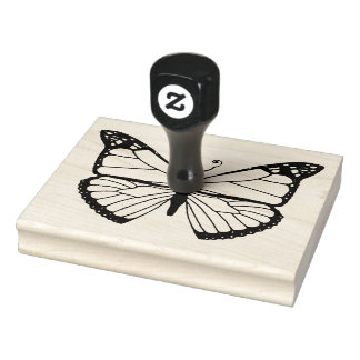 Monarch -- (Large) Rubber Stamp