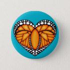 Monarch Love 6 Cm Round Badge