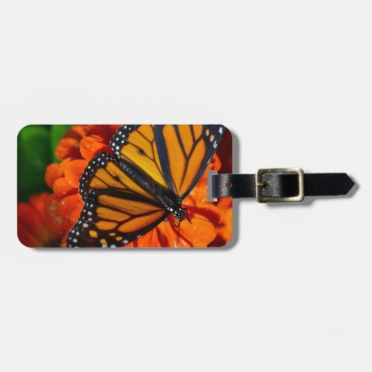 Monarch Luggage Tag