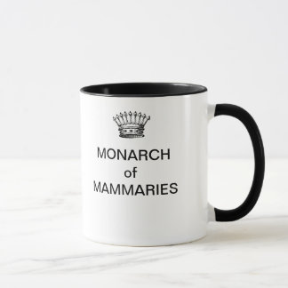 MONARCH of MAMMARIES Coffee Mug