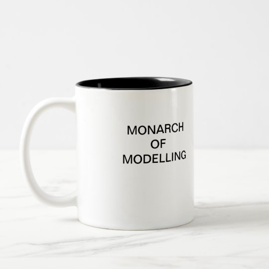 MONARCH OF MODELLING Coffee Mug