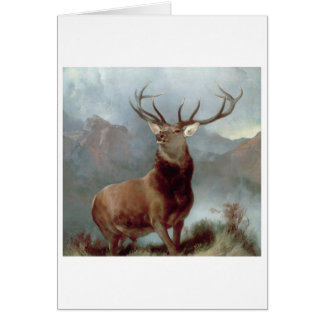 Monarch of the Glen, 1851 Card