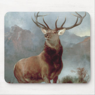 Monarch of the Glen, 1851 Mouse Pad
