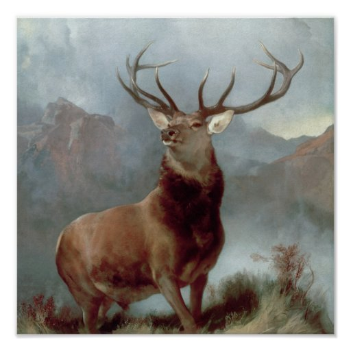 Monarch of the Glen, 1851 Print
