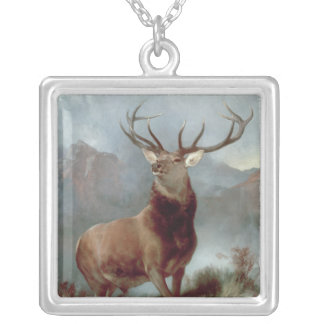 Monarch of the Glen, 1851 Silver Plated Necklace
