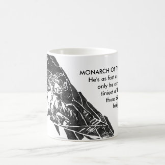 Monarch of them mountains - Wild animal Mug