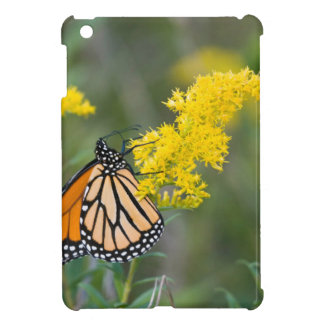 Monarch on Goldenrod Cover For The iPad Mini