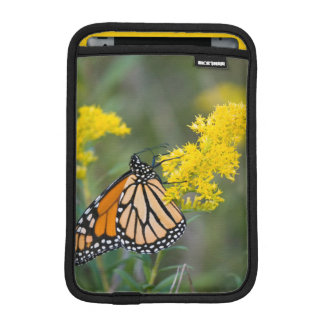 Monarch on Goldenrod iPad Mini Sleeve