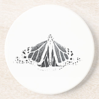 Monarch outline coasters