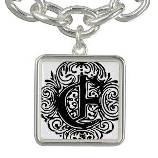 "Monarchia ""E"" Charm Bracelet Bracelet"