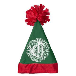 "Monarchia White Letter ""C"" Santa Hat"