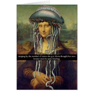 """Mona's New Bonnet"" Card"