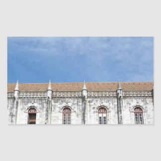 Monastery Hieronymites Rectangular Sticker